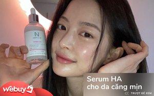 Hội da đẹp ai cũng có 1 chai serum HA, các nàng nên sắm theo để có da căng mịn đón Tết