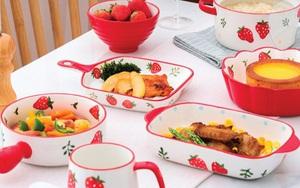 Sắm đồ dùng nhà bếp màu đỏ cho năm Tân Sửu ngập tràn may mắn, có loại đang sale tới 33%