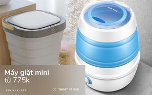 6 máy giặt mini nhỏ gọn tiện dụng cho người độc thân