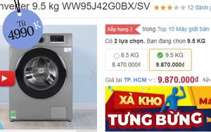 Loạt máy giặt đang sale mạnh: Chỉ từ 4,9 triệu là sắm được một em ngon nghẻ