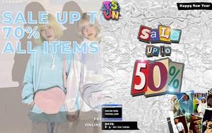 Loạt local brand chất chơi đang sale mạnh đến 70%, tranh thủ sắm đồ diện Tết là đẹp