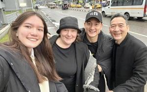 Đặng Văn Lâm đã về đến Nga, ôm chầm lấy em gái tại sân bay
