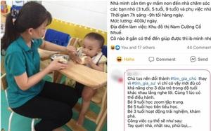 """Lương 12 triệu trông 3 trẻ kiêm giúp việc, cô giáo chê """"bèo"""", phụ huynh đáp trả: Thuận mua, vừa bán"""