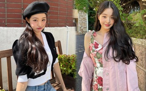 Jang Won Young phối đồ cao tay thật, các item basic qua tay cô nàng trông lại tiểu thư, chanh sả đến là mê