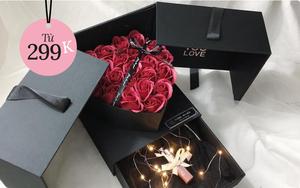 Từ 299K, bạn đã mua được set hoa + quà long lanh để tặng Valentine