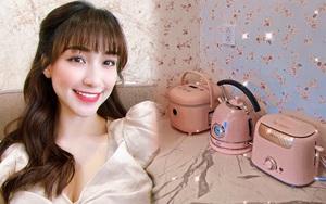 Hòa Minzy có cả loạt đồ nhà bếp màu hồng siêu xinh nhiều chị em sẽ muốn sắm theo