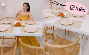 Kaity Nguyễn khoe bộ bàn ăn 12 triệu xinh phát hờn, ai cần sắm cho Tết nên tia gấp