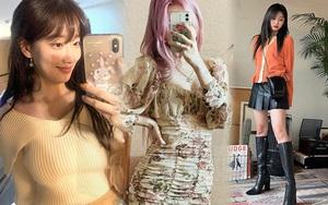 Loạt váy áo Zara, H&M sao Hàn sắm đợt này: Có món cực xinh đang sale chỉ còn 190k