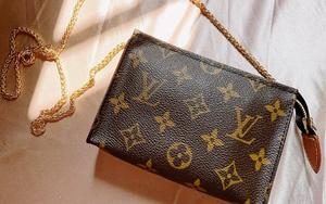 Mình đã bỏ gần 6 triệu mua một chiếc túi Louis Vuitton vintage nhỏ xinh và thực sự mát lòng mát dạ