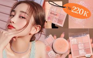 5 bảng phấn mắt siêu đẹp từ 220k chị em nên sắm để makeup long lanh Tết này