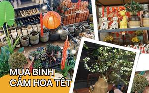 Mình đã tìm được 1 tiệm bán bình hoa siêu xinh mà giá lại rẻ ở Sài Gòn: Tết này tha hồ mà cắm mai đào!