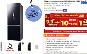 Từ 5,9 triệu sắm tủ lạnh cỡ vừa nhưng trữ đồ đáng nể cho Tết này