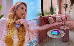 Fan mê mẩn 2 chiếc bàn trà trong penthouse 7 tỷ của Quỳnh Anh Shyn, hỏi ngay chỗ mua