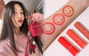 """Joy (Red Velvet) hé lộ son và cushion đang dùng: Toàn đồ bình dân """"đu"""" theo cực dễ"""