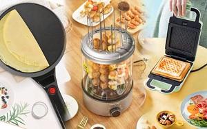 Check nhanh loạt đồ bếp nội địa Trung đang hot: Hay ho nhất là máy nướng thịt xiên, nhưng dân tình review ra sao?