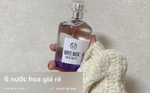 6 chai nước hoa giá trên dưới 1 triệu mùi nhẹ nhàng cực