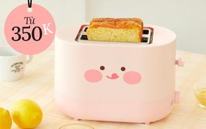 7 máy nướng bánh mì cho người chơi hệ cute, toàn mẫu cưng xỉu khó kìm lòng