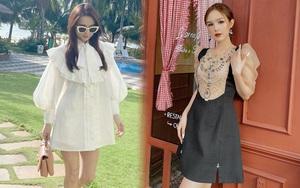 Váy áo local brand sao Việt vừa diện: Váy tiểu thư của Nhã Phương và váy