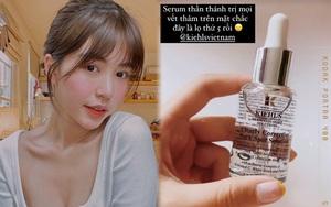 KOL Việt dùng mỹ phẩm gì: Quỳnh Anh Shyn khoe serum trị thâm siêu tốt, Mẫn Tiên mách nước kem siêu cấp ẩm