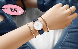 Bỏ ra chưa đến 3 triệu là bạn mua được một chiếc đồng hồ đẹp xịn đi tặng 8/3