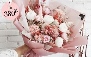 12 bó hoa xinh nhất tại các shop hoa Sài Gòn mùa 8/3 năm nay: Chỉ từ 380k tậu được một bó chất lượng