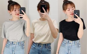 Review thật tâm áo phông trơn ở H&M, Mango, UNIQLO: Giá đều dưới 400K nhưng chất lượng khác nhau thế nào?