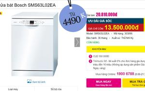 Máy rửa bát đang có giá siêu tốt: Từ 4,5 triệu là tậu được trợ thủ đắc lực giảm tải việc nhà