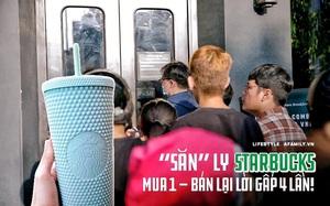 Choáng: Người Sài Gòn 6h sáng xếp hàng dài trước cổng Starbucks để