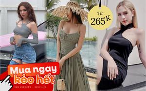 Đồ local brand sao Việt vừa diện: Bộ của Ngọc Trinh siêu rẻ, nhiều váy đẹp tôn dáng cực mê