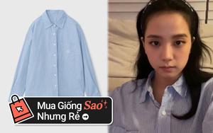 Jisoo diện bộ pyjama gần 3 triệu, chị em thích thì sắm mấy bộ tương tự giá chỉ vài trăm này