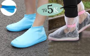 Rất cần kíp ngày mưa gió: 5 loại bao bọc giày đi mưa giá từ 5k đi kèm review chất lượng