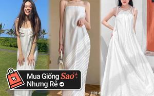Linh Ka mách chị em chỗ mua váy đi biển cực sang chảnh mà giá chỉ hơn 300k