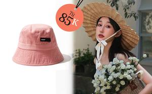 3 kiểu mũ không thể thiếu khi đi du lịch: Từ 85k sắm ngay 1 em, style nữ tính hay chất ngầu cũng có