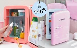 Hè đến chị em sắm tủ lạnh mini đựng mỹ phẩm cho đảm bảo, giá chỉ vài trăm không đắt tẹo nào