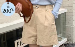 Tổng hợp quần shorts đáng sắm nhất hè này: Giá từ 200k, toàn kiểu