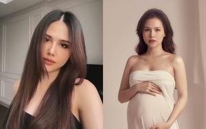 """Than vãn chuyện tăng 11kg khi mang thai, Phanh Lee vẫn sở hữu thần thái """"xinh không đối thủ"""""""
