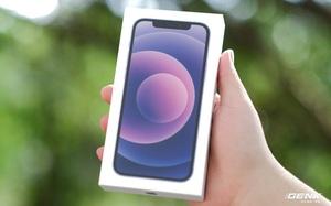 """Trên tay iPhone 12 màu """"tím mộng mơ"""" mới, giá chính hãng 22 triệu đồng, lên kệ trong tháng 6"""