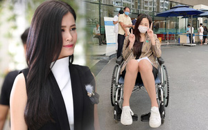 Mai Phương Thuý bất ngờ chia sẻ hình ảnh ngồi xe lăn khiến Đông Nhi lao ngay vào hỏi thăm, chuyện gì đây?