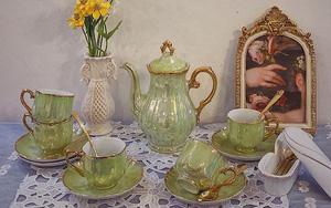 Mở tiệc trà ngay tại nhà với những bộ ấm tách đẹp long lanh