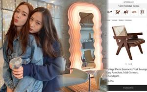 Đồ nội thất nhà Jessica và Krystal: Trông đơn giản mà soi giá muốn
