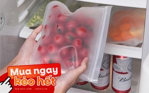 Nhiều loại màng bọc, hộp bảo quản thực phẩm đang sale siêu rẻ, chị em không mua thì phí lắm