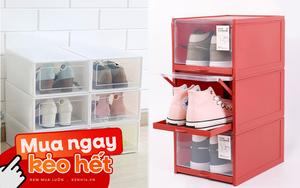 Tiếc chi vài chục nghìn sắm hộp đựng giày: Nhà gọn hơn, giày cũng được bảo quản tốt