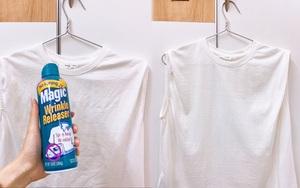 Thử nước xịt phẳng quần áo giá 300k mà ngỡ ngàng: Làm vải phẳng phiu