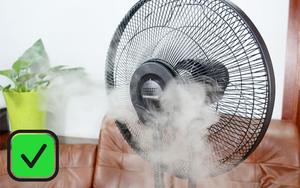 Người người nhà nhà lắp điều hòa, tôi vẫn dùng quạt phun sương vì 5 ưu điểm tuyệt vời này