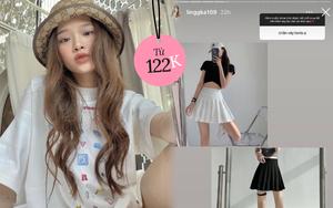 Điểm 10 cho Linh Ka khi mách nước hội chị em mấy shop bán chân váy, quần short đẹp giá cực