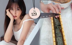 Diễm My 9X có bộ dụng cụ làm kimbap hay quá, chị em nào nghiện món này nên mua theo ngay
