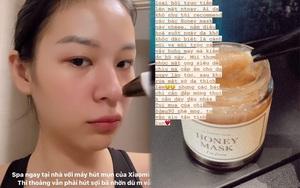 Đồ skincare sao Việt tin dùng: Phí Phương Anh khoe bộ lột mụn đầu đen, Á hậu Phương Nga mê nước tẩy trang rẻ bèo