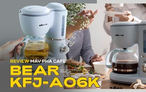 Máy pha cafe Bear: Vừa xinh vừa rẻ nhưng khi dùng nên