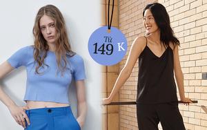 List đồ hè siêu xinh đang có giá sale cực tốt: Áo UNIQLO từ 149K, áo Zara 299K, quần jeans Mango chỉ 399K