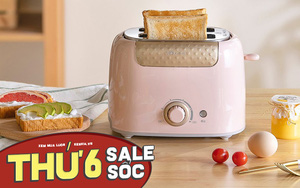 Ai đang cần máy nướng bánh mì thì đừng bỏ lỡ 7 deal này: Toàn máy xinh xẻo, chiếc rẻ nhất chỉ 290k